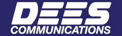Dees Communications logo